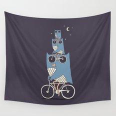 Night Rider Wall Tapestry