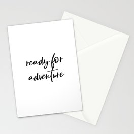 Ready for Adventure Stationery Cards
