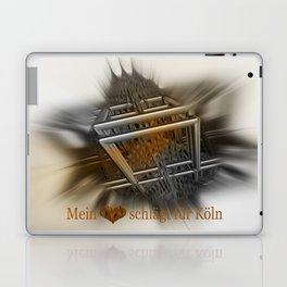 Mein Herz schlägt für Köln Laptop & iPad Skin