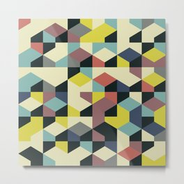 Abstract Geometric Artwork 52 Metal Print