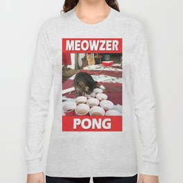 Meowzer Pong Long Sleeve T-shirt