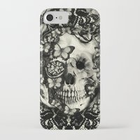 victorian iPhone & iPod Cases featuring Victorian Gothic by Kristy Patterson Design