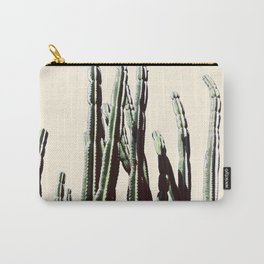 Green Cactus 9 Summer Carry-All Pouch