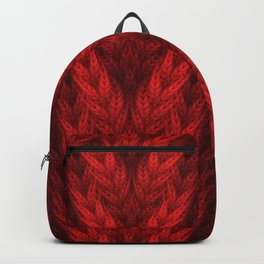 Cable Knit Backpack