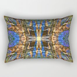 MADRONA TREE MANDALA Rectangular Pillow