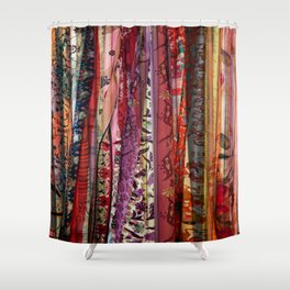 Boho Soft Mandala Lace Shower Curtain