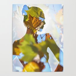 A Woman Among the Leaves Poster