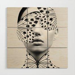 Woman Butterfly Wood Wall Art