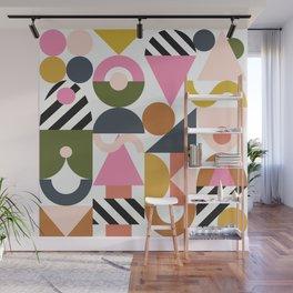 Blocks - Carnival Edition Wall Mural