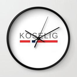 Norway Cozy   Koselig Wall Clock