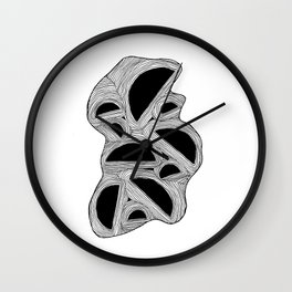 Domes Wall Clock