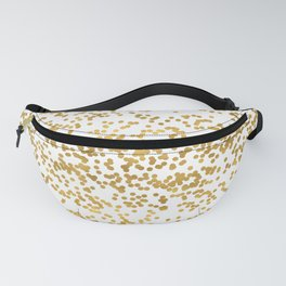 Chic Glam Confetti Dots Fanny Pack