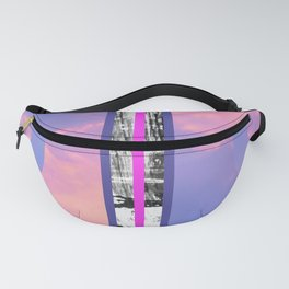 Sunsets and Circles Fanny Pack