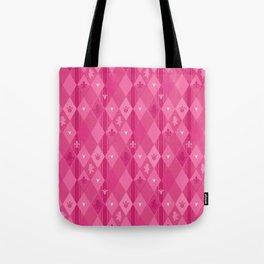 Pink Lily Bears Tote Bag