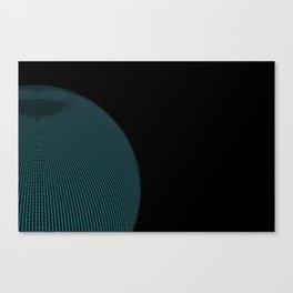 Wire Globe Canvas Print