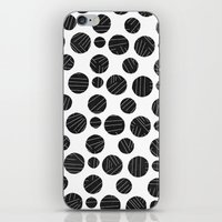 polka iPhone & iPod Skins featuring polka by spinL