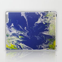 Marble Earth Pour Laptop & iPad Skin