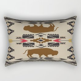 American Native Pattern No. 180 Rectangular Pillow