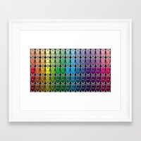 vw Framed Art Prints featuring VW spectrum by Andrew Mark Hunter