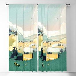 Mountain View Blackout Curtain