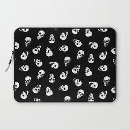 Gossiping Skulls Laptop Sleeve