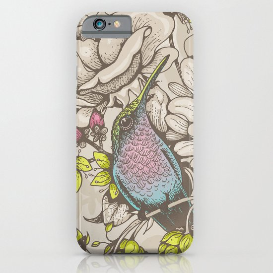Beauty (eye of the beholder) - cream version iPhone & iPod Case