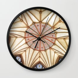 Chapter House at York Minster Wall Clock