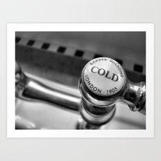 Cold but not forgotten. Art Print