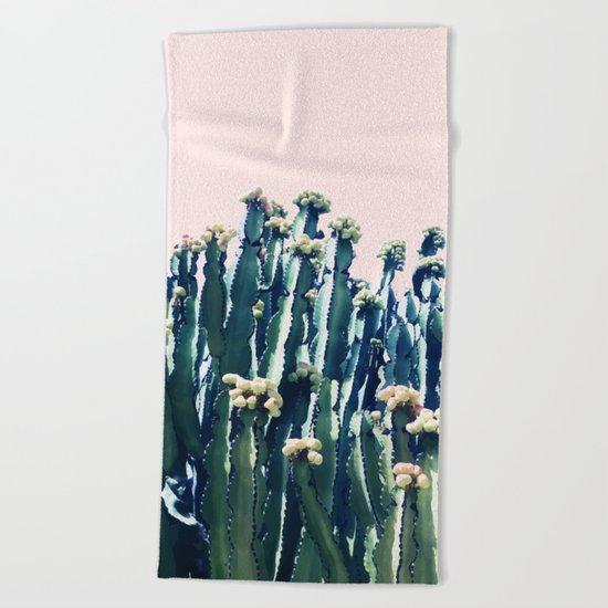 Cactus V5 #society6 #decor #buyart Beach Towel