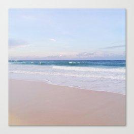 Lavender Beach + Shore Canvas Print