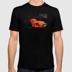 Porsche 935 K3 Jagermeister  Black LARGE Mens Fitted Tee