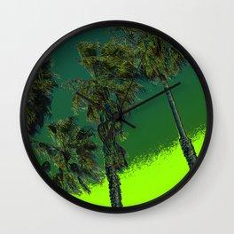 California Kush Wall Clock