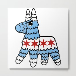 Killer Pinata Chicago Metal Print