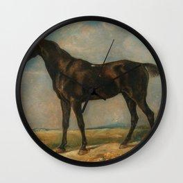 """John Constable """"Golding Constable's Black Riding Horse"""" Wall Clock"""