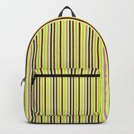 Hellebores Stripe - Chartreuse Backpack