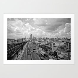 From the Seven Train in Queens Art Print