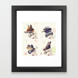 Star Team - Legends of Lylat Framed Art Print