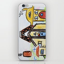 At The Play House iPhone Skin
