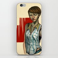 sam smith iPhone & iPod Skins featuring Sam by Kai Christie