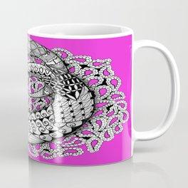 Zentangle Mobius Pink Coffee Mug