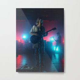 Christian Zucconi of Grouplove at Terminal 5, New York Metal Print