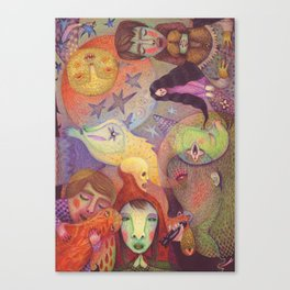 A Strange Fairytale Canvas Print