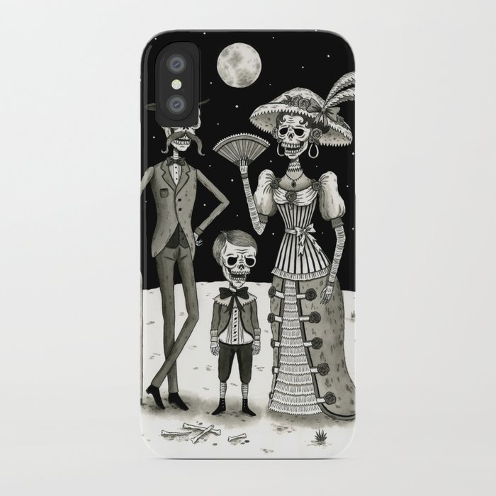 Family Portrait of the Passed iPhone Case