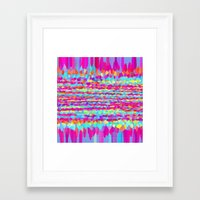 fringe Framed Art Prints featuring Fringe by Mistflower