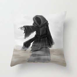 Ghost of Christmas Yet to Come Throw Pillow
