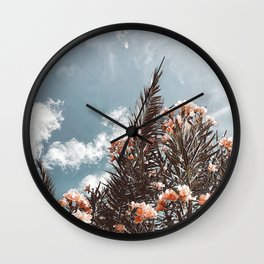 Life is Peachy Wall Clock