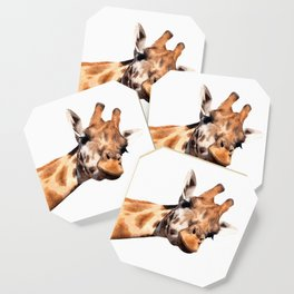 Giraffe portrait Coaster