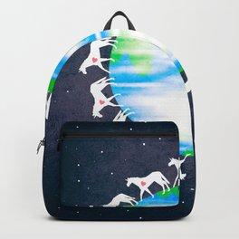 Unicorns Love Earth Backpack
