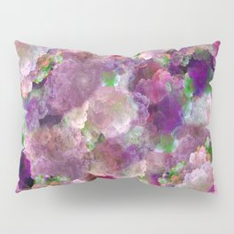 Beautiful ultra violet floral pattern Pillow Sham