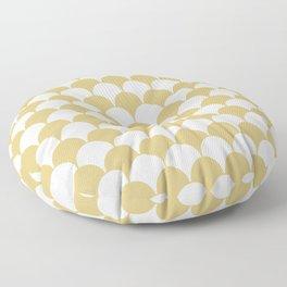 Fan Pattern 321 Gold Floor Pillow